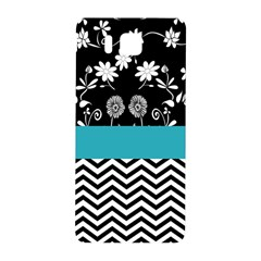 Flowers Turquoise Pattern Floral Samsung Galaxy Alpha Hardshell Back Case