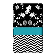 Flowers Turquoise Pattern Floral Samsung Galaxy Tab S (8.4 ) Hardshell Case