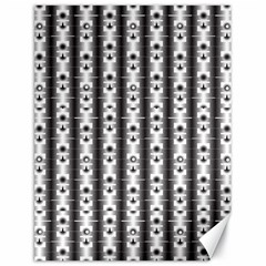 Pattern Background Texture Black Canvas 18  x 24