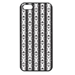 Pattern Background Texture Black Apple Iphone 5 Seamless Case (black)
