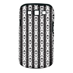 Pattern Background Texture Black Samsung Galaxy S III Classic Hardshell Case (PC+Silicone)