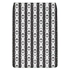 Pattern Background Texture Black Flap Covers (l)