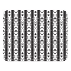Pattern Background Texture Black Double Sided Flano Blanket (Large)
