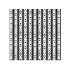Pattern Background Texture Black Small Satin Scarf (square)