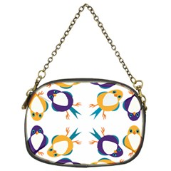 Pattern Circular Birds Chain Purses (two Sides)