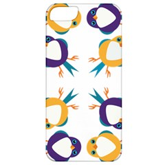 Pattern Circular Birds Apple Iphone 5 Classic Hardshell Case