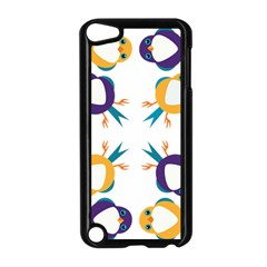 Pattern Circular Birds Apple iPod Touch 5 Case (Black)