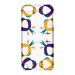 Pattern Circular Birds Apple iPod Touch 5 Hardshell Case with Stand