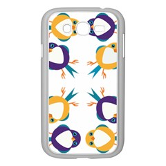 Pattern Circular Birds Samsung Galaxy Grand DUOS I9082 Case (White)