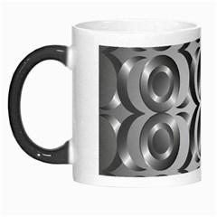 Metal Circle Background Ring Morph Mugs