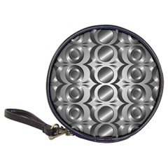 Metal Circle Background Ring Classic 20 Cd Wallets