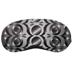 Metal Circle Background Ring Sleeping Masks