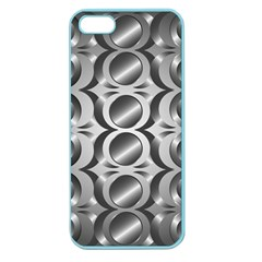 Metal Circle Background Ring Apple Seamless Iphone 5 Case (color)