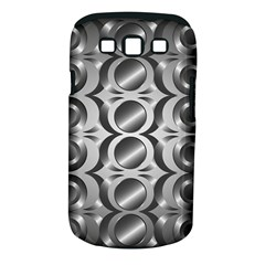 Metal Circle Background Ring Samsung Galaxy S Iii Classic Hardshell Case (pc+silicone)