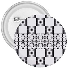 Pattern Background Texture Black 3  Buttons