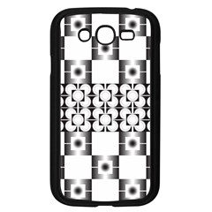 Pattern Background Texture Black Samsung Galaxy Grand Duos I9082 Case (black)