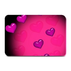 Background Heart Valentine S Day Plate Mats