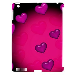 Background Heart Valentine S Day Apple Ipad 3/4 Hardshell Case (compatible With Smart Cover)
