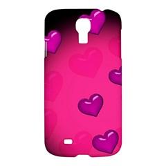 Background Heart Valentine S Day Samsung Galaxy S4 I9500/i9505 Hardshell Case