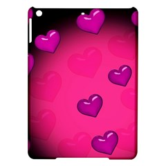Background Heart Valentine S Day Ipad Air Hardshell Cases