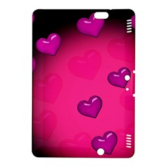 Background Heart Valentine S Day Kindle Fire Hdx 8 9  Hardshell Case