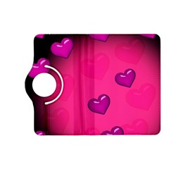 Background Heart Valentine S Day Kindle Fire Hd (2013) Flip 360 Case
