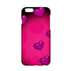 Background Heart Valentine S Day Apple Iphone 6/6s Hardshell Case