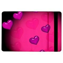 Background Heart Valentine S Day iPad Air 2 Flip