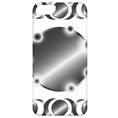 Metal Circle Background Ring Apple Iphone 5 Classic Hardshell Case