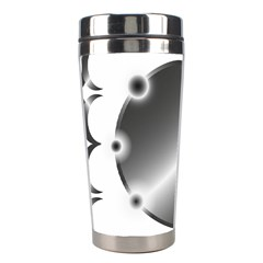 Metal Circle Background Ring Stainless Steel Travel Tumblers