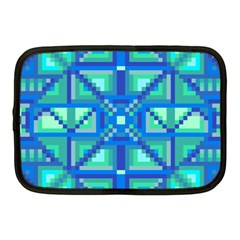 Grid Geometric Pattern Colorful Netbook Case (Medium)