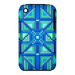 Grid Geometric Pattern Colorful Iphone 3s/3gs