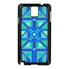 Grid Geometric Pattern Colorful Samsung Galaxy Note 3 N9005 Case (black)