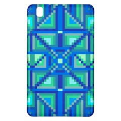 Grid Geometric Pattern Colorful Samsung Galaxy Tab Pro 8 4 Hardshell Case