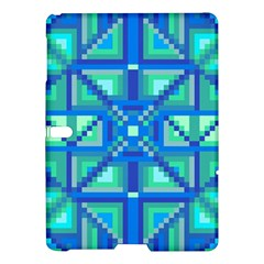 Grid Geometric Pattern Colorful Samsung Galaxy Tab S (10 5 ) Hardshell Case