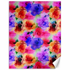 Floral Pattern Background Seamless Canvas 12  x 16