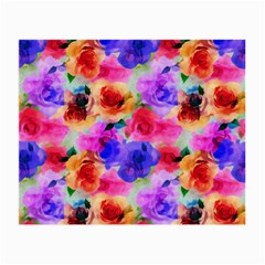 Floral Pattern Background Seamless Small Glasses Cloth (2 Side)