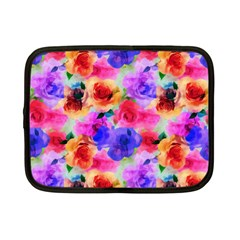 Floral Pattern Background Seamless Netbook Case (small)