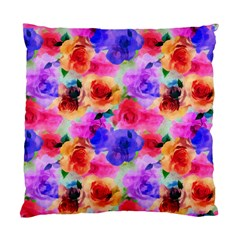 Floral Pattern Background Seamless Standard Cushion Case (two Sides)