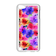 Floral Pattern Background Seamless Apple Ipod Touch 5 Case (white)