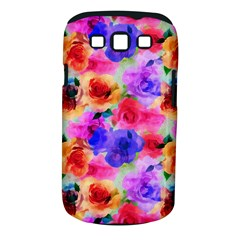 Floral Pattern Background Seamless Samsung Galaxy S Iii Classic Hardshell Case (pc+silicone)