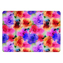 Floral Pattern Background Seamless Samsung Galaxy Tab 10 1  P7500 Flip Case