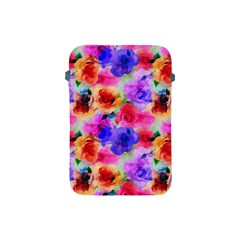 Floral Pattern Background Seamless Apple Ipad Mini Protective Soft Cases