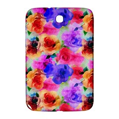 Floral Pattern Background Seamless Samsung Galaxy Note 8 0 N5100 Hardshell Case