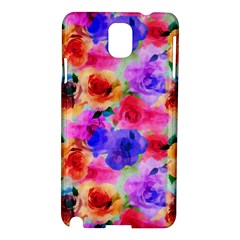 Floral Pattern Background Seamless Samsung Galaxy Note 3 N9005 Hardshell Case