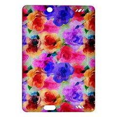 Floral Pattern Background Seamless Amazon Kindle Fire Hd (2013) Hardshell Case