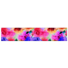 Floral Pattern Background Seamless Flano Scarf (small)