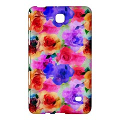 Floral Pattern Background Seamless Samsung Galaxy Tab 4 (8 ) Hardshell Case