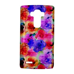 Floral Pattern Background Seamless LG G4 Hardshell Case