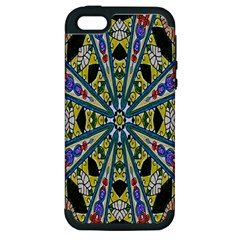Kaleidoscope Background Apple Iphone 5 Hardshell Case (pc+silicone)